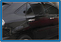 Накладки на ручки Lexus RX 330 (2007-) 4 шт. нерж. Omsa