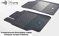 Коврики резиновые BMW 1 (E81,E82,E87) 2004-, 3 (E90,E91,E92) 2005-, X1 (E84) 09- (передние) Stingray