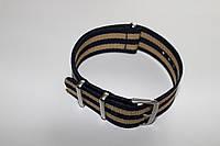 Синтетический ремень NATO-straps-сплошной ремешок из капронового материала 22 мм