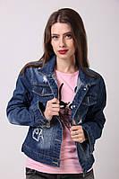Модный джинсовый Пиджак 1105