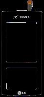 Тачскрин (сенсор) LG KF600, black (черный)