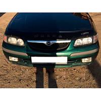 Дефлектор капота, мухобойка Mazda 626 с 1997-1999 г.в.до ресталинга