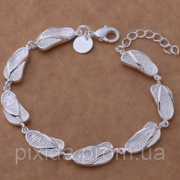 Браслет Вьетнамки покрытие серебром 925 пробы