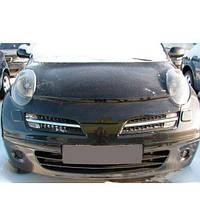 Дефлектор капота, мухобойка Nissan Micra (K12) с 2003–2010 г.в.