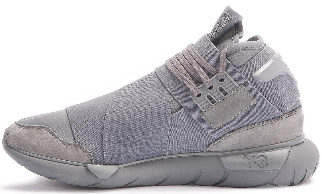 """Мужские кроссовки Adidas Y-3 Qasa High """"Vista Grey"""" - Интернет-магазин ab0f1b654d"""
