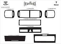 Декоративные накладки на панель Audi A3 (2000-2003) Meric
