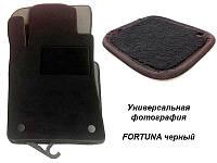 Коврики текстильные Ваз 2110, 2111, 2112 Fortuna черные