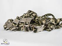 Нейлоновый ошейники с металлическим фастексом