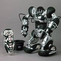 Интерактивный робот WowWee Robosapien серебристый оригинал