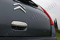 Накладка на ручку крышки багажника Citroen C-4 (2005-2010) нерж. Omsa