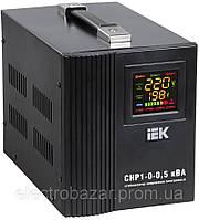 Стабилизатор напряжения для компьютера IEK  СНР1 0.5кВА электронный переносной