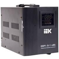 Релейный стабилизатор напряжения IEK СНР1 1кВА электронный переносной