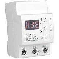 Барьер(реле контроля напряжения) с термозащитой (Зубр)Zubr D32t А