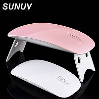 УФ лампа SUNmini для ногтей, гель лака диодная LED лампа