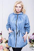 Модная  женская куртка ветровка батал 54 -70 размер