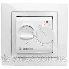 Terneo mex (белый) механическйи термостат(термореле)для теплого пола