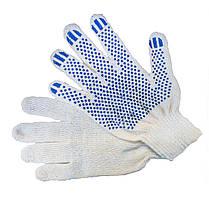 Перчатки трикотажные ПВХ-точка