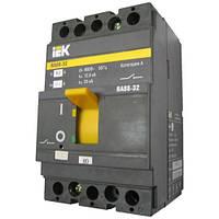 Силовой автоматический выключатель ВА88-33  3Р   100А  35кА ИЭК
