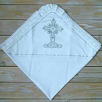 Крыжма на домотканном полотне на крестины, фото 1