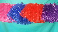 Фатиновая юбка с атласной лентой