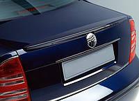 Спойлер крышки багажника Skoda Superb 2002-2008, VW Passat B5 2001-2005 AutoPlast