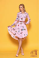 Красивое  платье рубашка 42-50р, доставка по Украине