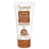 Увлажняющий солнцезащитный крем для лица Guinot Creme Solaire Hydratante SPF 20