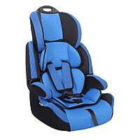 Детское авто кресло SIGER Стар синий, 1-12 лет, 9-36 кг, группа 1-2-3