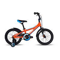 """Велосипед 16"""" Pride Tiger оранжевый/голубой/белый 2018, фото 1"""