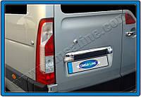 Накладка над номером Nissan NV400 (2010-) (нерж.) Omsa
