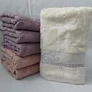 Красивые банные полотенца пастельных цветов. Размер: 1,4 x 0,7, фото 3