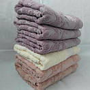 Лицевые махровые полотенца пастельных цветов. Размер: 1,0 x 0,5, фото 2