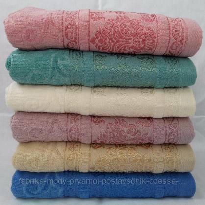 Лицевые полотенца с красивым принтом. Размер: 1,0 x 0,5