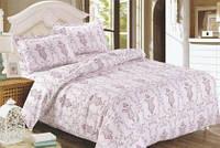 Красивые комплекты постельного белья евро размеров.