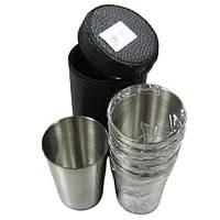 Рюмка большая 6шт +чехол РМ 16-6 (большие стаканы)