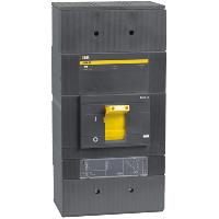 Силовой автоматический выключатель ВА88-43  3Р  1600А  50кА c электронным расцепителем  IEK