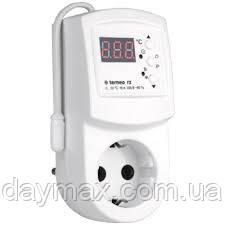 Терморегулятор для инфракрасных панелей и электрических конвекторовTerneo rz 16 А, 3000 ВА
