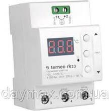 Терморегулятор для котла,terneo rk20 А, 20 A 4000 ВА