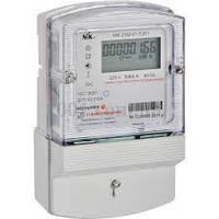 Счетчик электроэнергии однофазный электронный  НІК2102-01.Е2Р1 220В(5-60)А радиомодулем, с реле упр. нагрузкой