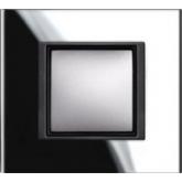Накладка одноместная Schneider electric Unica class черное зеркало