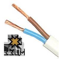 Медный провод для скрытой проводки ШВВП с сечением 2х2,5 ЗЗЦМ (Запорожье)
