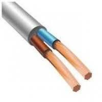 Медный провод для скрытой проводки ПВС с сечением 2 х 1,5 ЗЗЦМ (Запорожье)