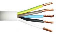Силовой кабель медный для скрытой проводки ПВС с сечением 5х4 ЗЗЦМ (Запорожье)