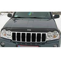 Дефлектор капота, мухобойка Jeep Grand Cherokee (WK) с 2005–2010 г.в.
