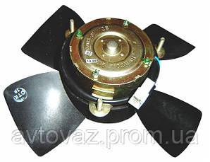 Электровентилятор радиат ВАЗ 2108, ВАЗ 2109, ВАЗ 2110, ВАЗ 2112, ВАЗ 2114, ВАЗ 2115 ВИС (4 лопасти)