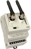 GSM шлюз на 4 и 2 выходные контакты с возможностью управления и отслеживания состояния беспроводных единиц RF