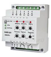 Реле напряжения, послед., перекоса и обрыва фаз, контроль МП, индикация РНПП-302