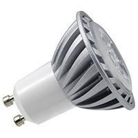 250lm, 6W, цоколь GU51%, теплый, белый 3000K, диммируемая, замена 50W лампочки