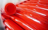 Труба для теплого пола Roda PEX-A красная, 16х2.0 с кислородным барьером