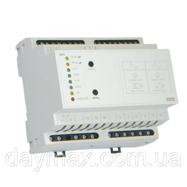DIM-6/230V управляемый регулятор яркости с добавочным модулем (димер)